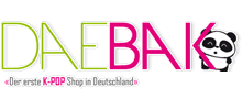DAEBAK K-Pop Shop Logo